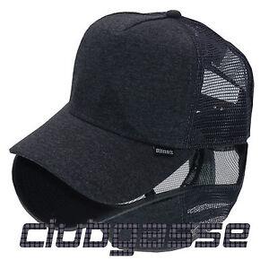 NEW-Djinns-Trucker-Cap-HFT-Cut-amp-Sew-charcoal-NEU-MIT-ETIKETT