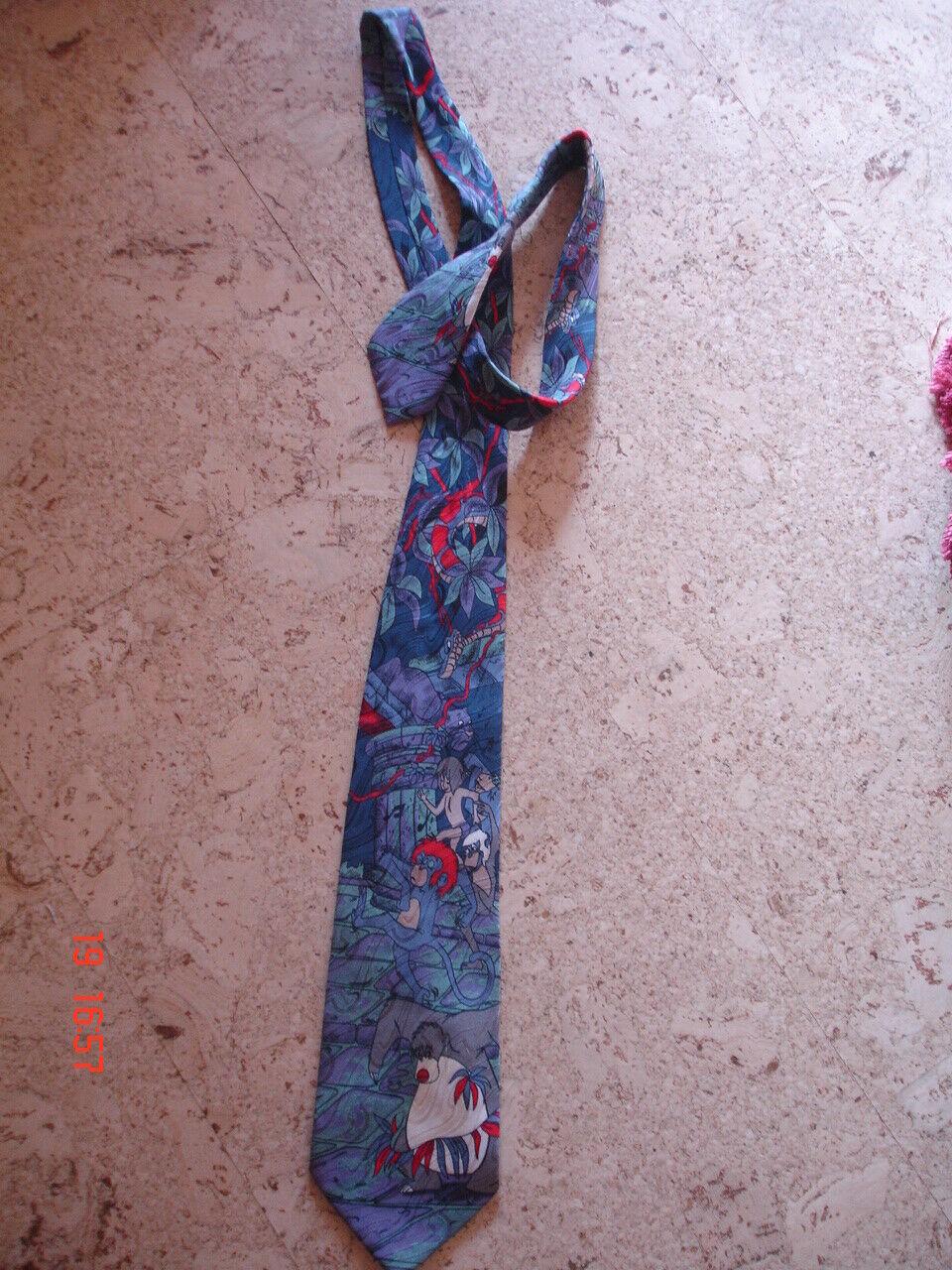 Krawatte - Seiden-Krawatte Motiv: Disney Dschungelbuch
