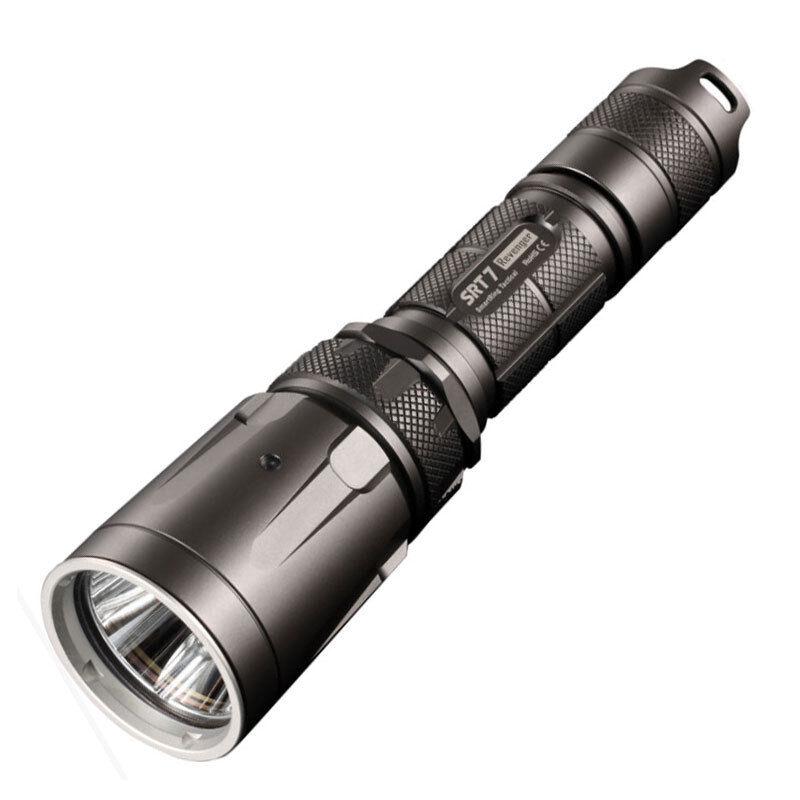 Lampe torche nitecore SRT7 3 colores 960 lumens militaire police sécurité