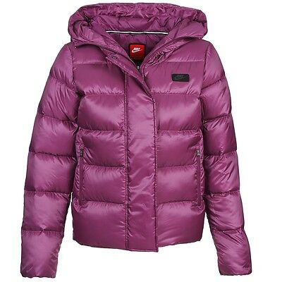 Nike Women's 550 Fill Down Uptown Hooded Jacket 683898 563 RRP £150   eBay