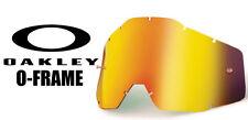 Goggle Shop MX Motocross Tear off Goggle lens for Oakley O-frame - Mirror Fire