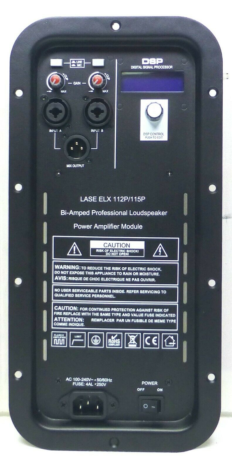 Ersatz-Amplifier-Modul Electro Voice EV ELX112P 115P Power Speaker w DSP