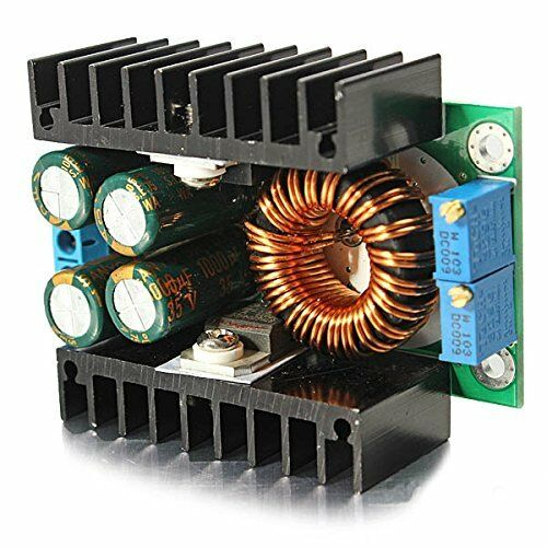 DC-DC CC CV Buck Converter Step-down Power Module 7-32V to 0.8-28V 12A 300W