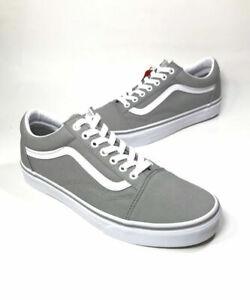 VANS Grey Drizzle Old Skool Shoes Mens 12   eBay