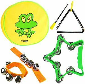 HonnêTe Keepdrum Kinder-percussion-set Musik-spielzeug Enfants Tambourin