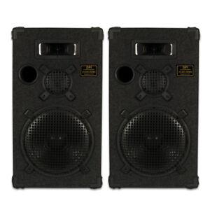 Goldwood-Sound-DPI-1200C-8-Passive-12-034-Speaker-Pair-3-Way-PA-DJ-Karaoke-Home