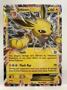Jolteon EX 28/83 - Ultra Rare Holo - Generations Pokemon ...