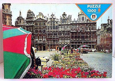 Pintoo P1168 253 Piece mini Plastic Puzzle Ghent Canal Belgium
