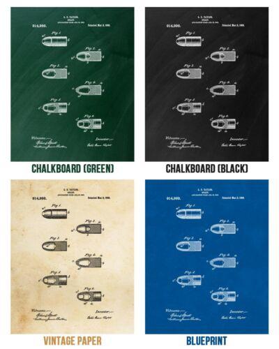 Bullet Poster Print Gun Club Decor Ballistics Analyst Investigator Gift