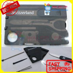 New swizerland 12 in 1 credit card multitool knife blade business image is loading new swizerland 12 in 1 credit card multitool colourmoves