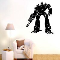 Large Transformers Wall Stickers Vinyl Removable Decor Decals Home Mural DIY AU