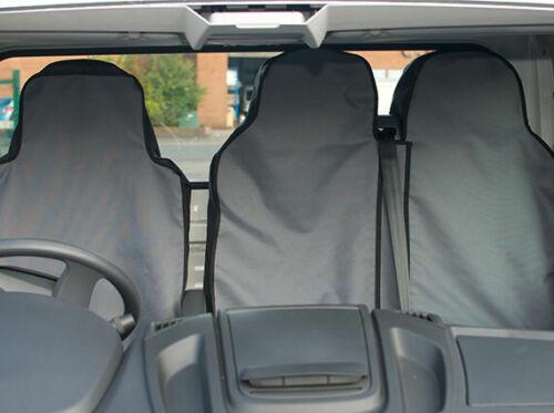 Iveco Daily 2000 Semi-tailored TWIN PASSENGER Waterproof Van Seat Covers