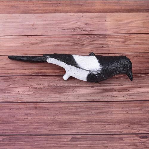 1pc black /& white gazza esca da trappola da caccia che pesca l/'uccello berJYIT