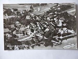 Ansichtskarte Seeshaupt Starnberger See Luftbild
