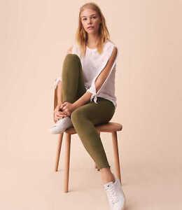 9d9212411e51b3 NWT Ann Taylor LOFT Lou & Grey Fab Cozy leggings Green | eBay