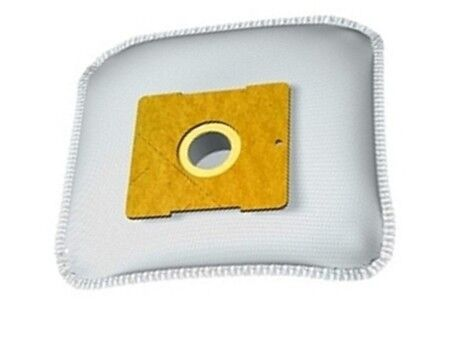 10 Filtertüten De Sina BSS 1400 Space Max-Mobil Staubsaugerbeutel silber