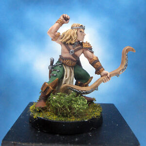 Painted-Ral-Partha-Crucible-Miniature-Royal-Elf-Archer