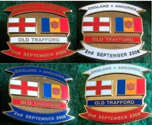 England-v-Andorra-Euro-2008-Qualifier-Manchester-2-September-2006-Pin-Badge