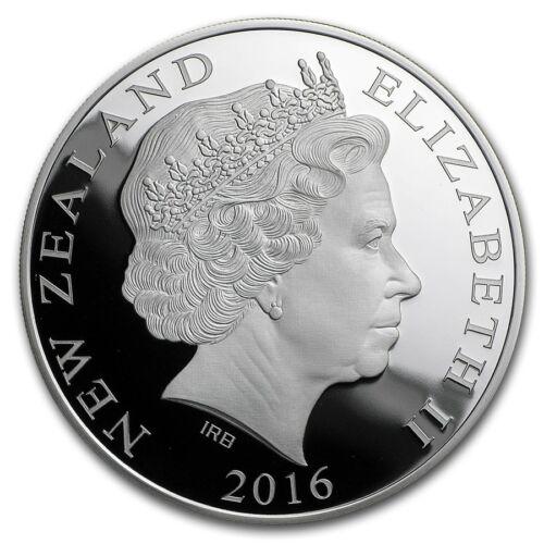 RIO DE JANEIRO OLYMPICS 2016-1 OZ Silver Proof Coin New Zealand