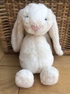 Jellycat-small-white-cream-Bashful-Bunny-plush-soft-toy-11-034-comforter
