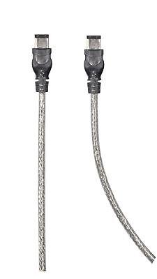 Firewire-kabel & -adapter Belkin 4.2m Firewire Kabel 6pin To 6pin Anthrazit Entlastung Von Hitze Und Sonnenstich