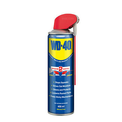 WD-40 44237 Multi Purpose Corrosion Protection 450ml Smartstraw Displacement