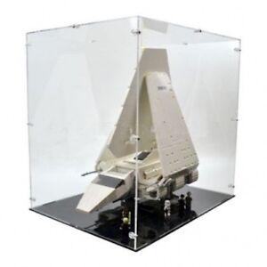 Vitrine en acrylique pour la navette impériale Lego 10212 Ucs (en position d'atterrissage) - Nouveau