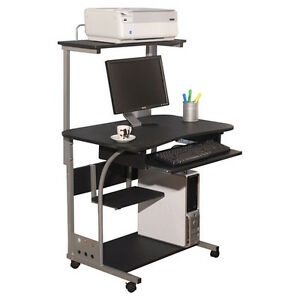 Image Is Loading Desk Computer Table W Printer Shelf Home Office