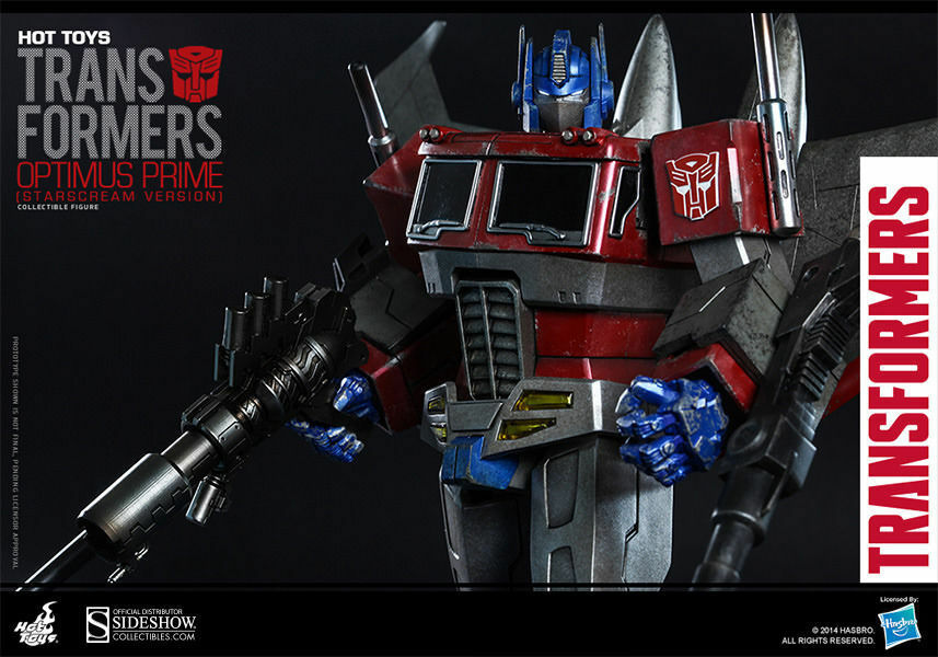 Optimus Optimus Optimus Prime (Starscream Version) Collectible Figure by Hot Toys bbab50