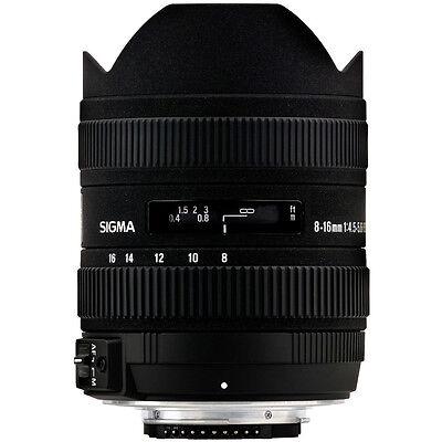 Sigma 8-16 mm DC HSM   Objektiv für Canon EOS Digital B-Ware Fachhändler