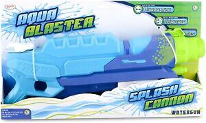 Aqua Blaster Splash Cannon 38FT Garden Water Pump Action Gun Super Pistol Soaker