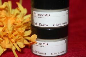 DR-PERRICONE-NV-MD-COLD-PLASMA-FACE-CREAM-5-oz-x-2-1-OZ-full-size-AUTHENTIC