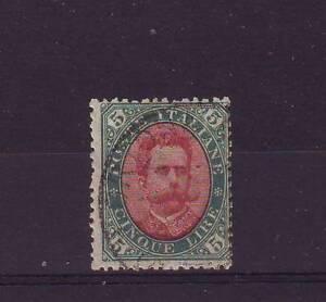 ITALY 1889 RARE 5 L. Humbert USED ! 2200 $ ! - Italia - ITALY 1889 RARE 5 L. Humbert USED ! 2200 $ ! - Italia
