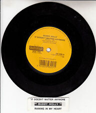 """BUDDY HOLLY It Doesn't Matter Anymore & Raining In My Heart 7"""" 45 rpm record NEW"""