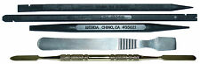 Set of 5 Professional Laptop LCD iPad iPod Pry Repair Tools Metal & Black Sticks