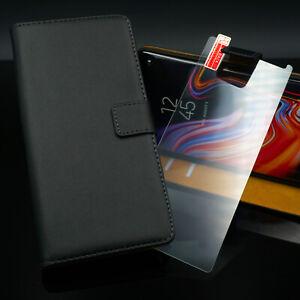 Handy-Tasche-Flip-Cover-Case-Panzerfolie-Schutz-Hulle-Etui-Schale-Wallet-Set