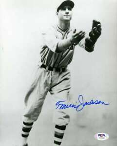 Travis-Jackson-PSA-DNA-Coa-Hand-Signed-8x10-Photo-Autograph
