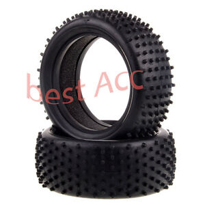 2PCS-Front-Tyre-Tire-06009HSP-RC-Off-Road-Buggy-Tire-1-10