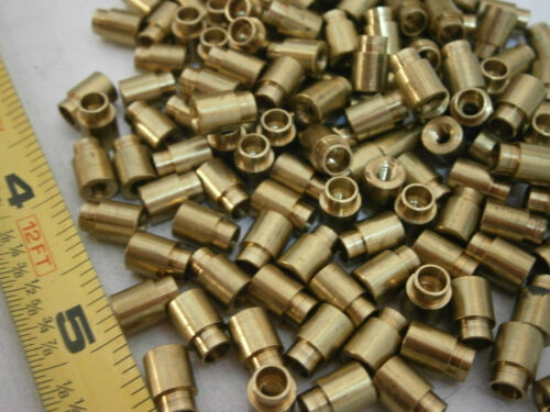 Amatom 19833B-B-0350-0  Swage Standoffs M3 6mm Round x 6mm Brass Lot of 50 #4183