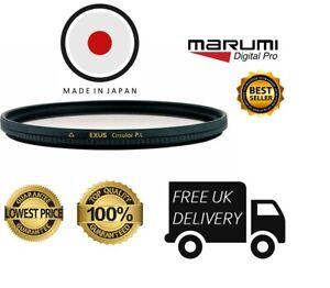 Reino Unido stock Filtro Polarizador Circular 37mm Exus Marumi EXS37CIR
