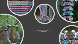 TIMBERWOLF-Dog-Collar-Leash-Harness-Traffic-Lead-Alpine-Sequoia-Made-in-USA