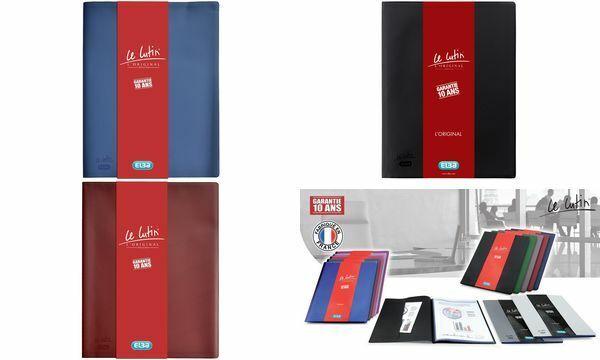 Elba Sichtbuch Präsentationsbuch Le Lutin A4 schwarz 100 Hüllen genarbt Taschen | Offizielle Webseite  | Einzigartig  | Große Klassifizierung