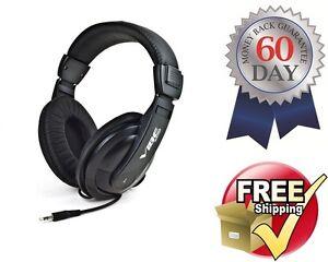 Vibe-Sound-DJ-750-Black-Noise-Reduction-Stereo-Bass-Headphones-VS750DJ-VS-750-DJ