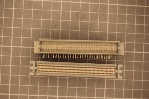 DDR Stecker 3x29 Kontakte a-b-c  Stecker und Buchse