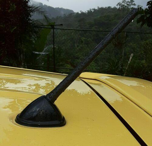 "6 3//4/"" Short Black Antenna Mast Radio AM//FM for SUZUKI AERIO WAGON 2002-2006 New"