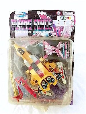 Acquista A Buon Mercato Vintage Lh Toys Interchanger Flying Force Falcon-bot Trasformable Nuovo!! Carattere Aromatico E Gusto Gradevole