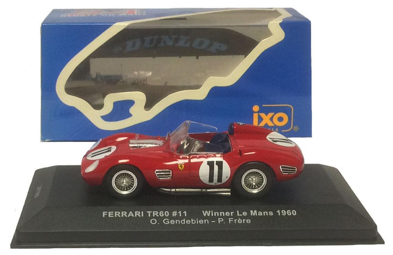 artículos novedosos Ixo lm1960 lm1960 lm1960 Ferrari Tr60   11 Winner Le Mans 1960-gendebien frere 1 43 Escala  100% precio garantizado