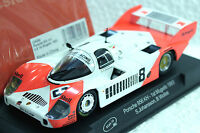 Slot It Sica09d Marlboro Porsche 956c 1st Place 1/32 Slot Car In Display