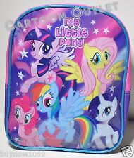 "MY LITTLE PONY TODDLER SMALL BACKPACK 10"" BAG NWT GIRLS BIRTHDAY GIFT CUTE FUN"