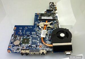 Ersatzteil-HP-Mainboard-623915-001-mit-CPU-und-Luefter-fuer-Compaq-CQ56-DEFEKT